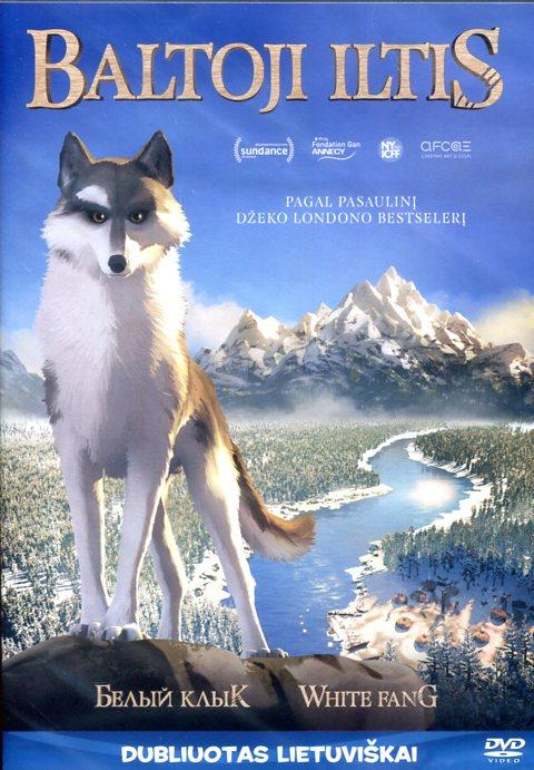 Baltoji iltis (DVD)  
