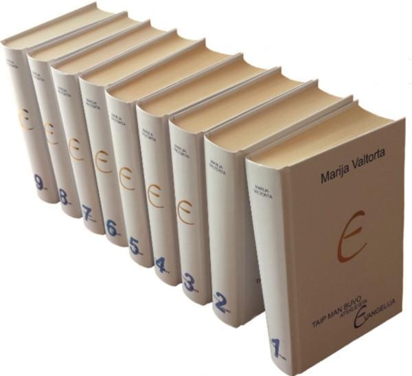 Taip man buvo atskleista Evangelija, 1-10 tomai   Maria Valtorta