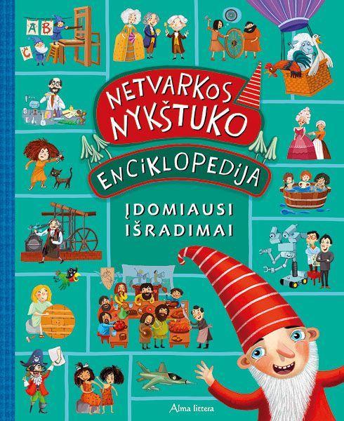 Netvarkos nykštuko enciklopedija. Įdomiausi išradimai  