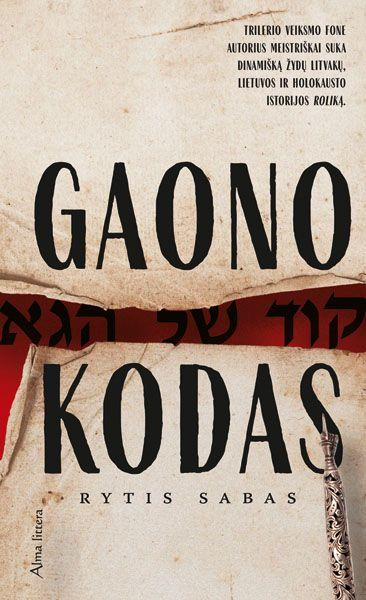 Gaono kodas | Rytis Sabas