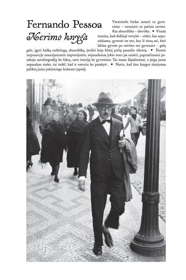 Nerimo knyga   Fernando Pessoa
