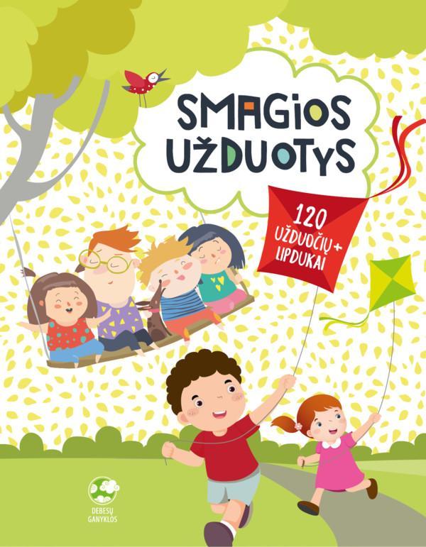 Smagios užduotys vaikams | Roma Blėkienė