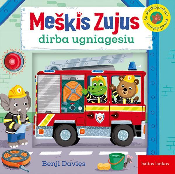 Meškis Zujus dirba ugniagesiu | Benji Davies
