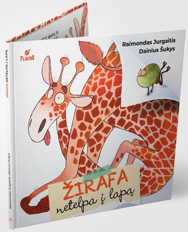 Žirafa netelpa į lapą | Raimondas Jurgaitis