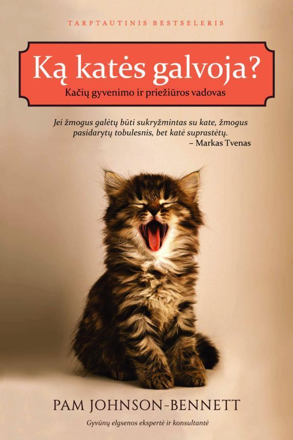 Ką katės galvoja? Kačių gyvenimo ir priežiūros vadovas | Pam Johnson-Bennet