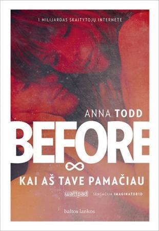 Before. Kai aš tave pamačiau   Anna Todd