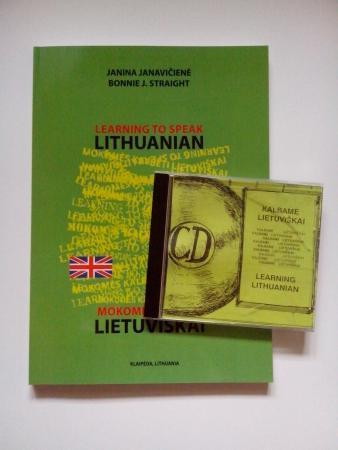 Learning to speak Lithuanian = Mokomės kalbėti lietuviškai (su CD) | Janina Janavičienė, Bonnie J. Straight