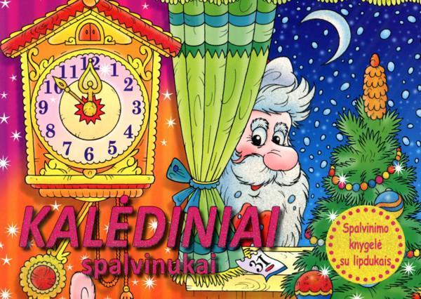 Kalėdiniai spalvinukai  