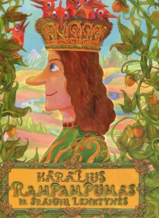 Karalius Rampampumas ir sraigių lenktynės | Paulius Juodišius