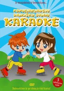 Populiariausių vaikiškų dainų karaoke 2 (DVD)  