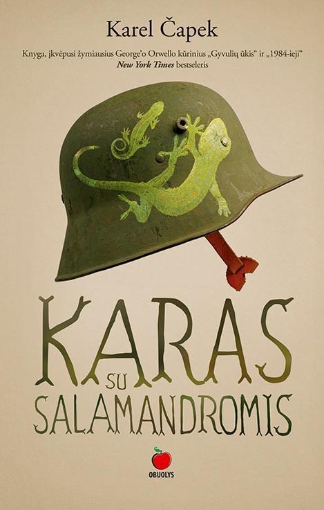 Karas su salamandromis | Karel Čapek