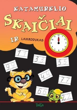 Katamurklio skaičiai ir laikrodukas  