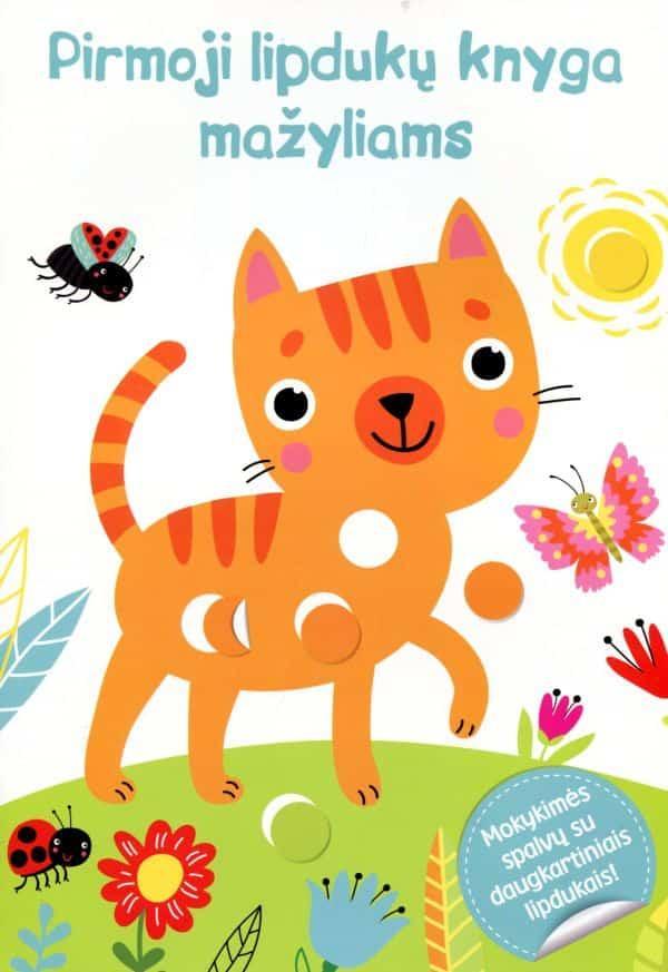 Katė. Pirmoji lipdukų knyga mažyliams |