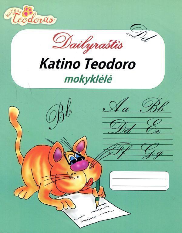 Katino Teodoro mokyklėlė. Dailyraštis |