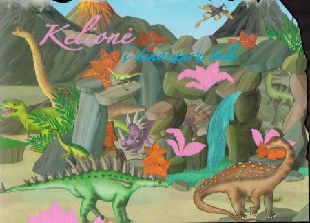 Kelionė į dinozaurų šalį (lipdukų knyga) |