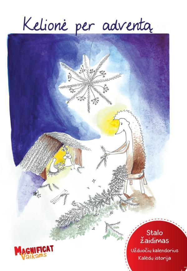 Kelionė per Adventą (stalo žaidimas, užduočių kalendorius ir Kalėdų istorija) |