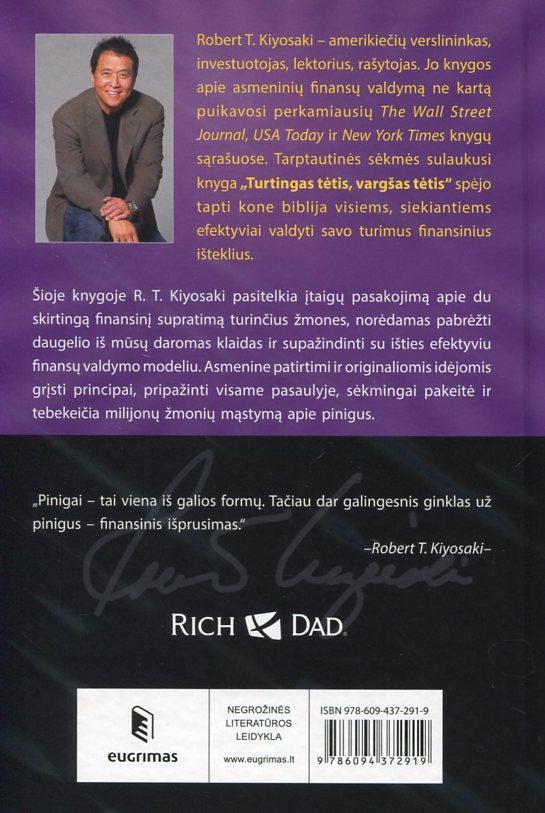 Turtingas tėtis, vargšas tėtis | Robert T. Kiyosaki