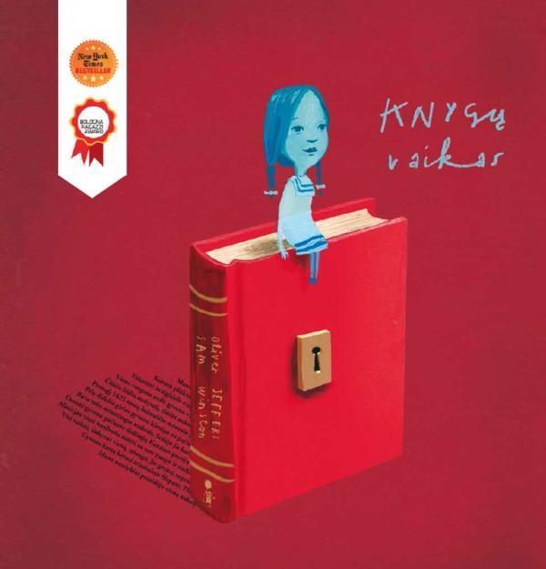 Knygų vaikas   Oliver Jeffers, Sam Winston