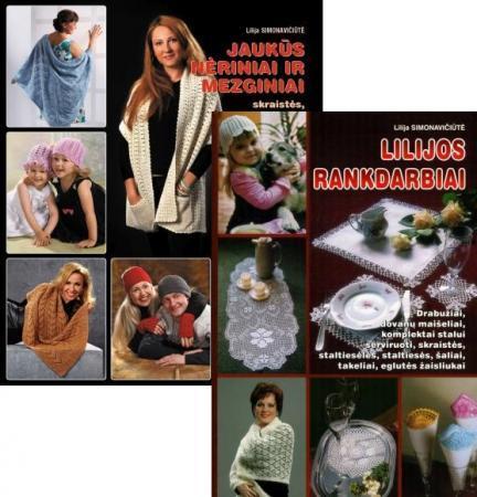 KOMPLEKTAS. Jaukūs nėriniai ir mezginiai + Lilijos rankdarbiai | Lilija Simonavičiūtė