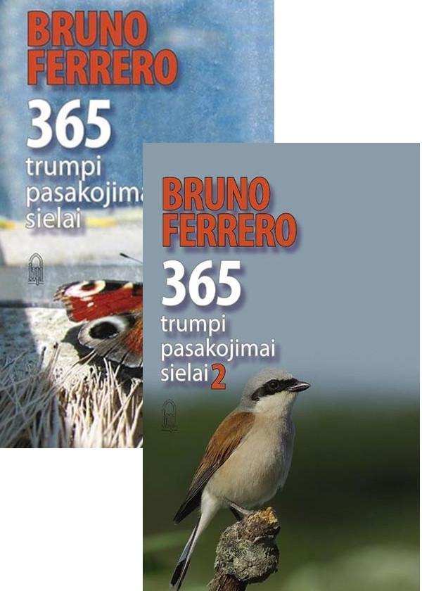 KOMPLEKTAS. 365 trumpi pasakojimai sielai, 1 ir 2 dalys | Bruno Ferrero