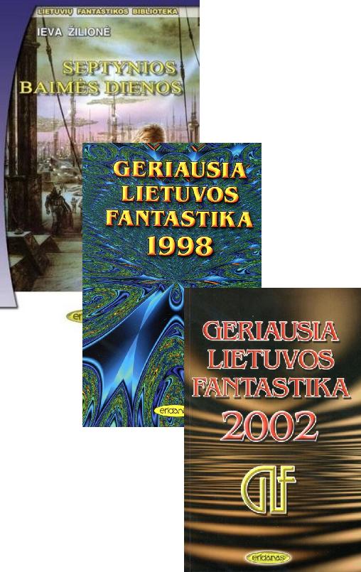 KOMPLEKTAS. Lietuvos fantastikos komplektas: GLF ir LFB serijų knygos  