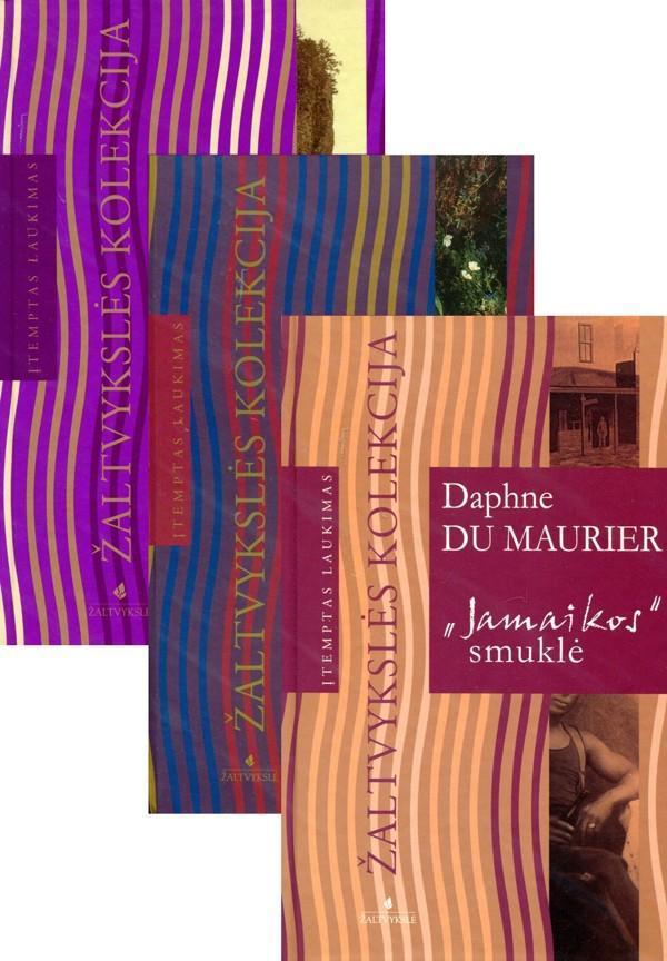 KOMPLEKTAS. Siaubo filmų meistro A. Hičkoko mėgstamiausia autorė – Dafnė diu Morjė: Įtemptas laukimas + Mano pusseserė Reičel + Jamaikos smuklė | Daphne du Maurier