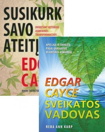 KOMPLEKTAS. Edgar Cayce. Susikurk savo ateitį + Sveikatos vadovas | Edgar Cayce