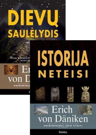 KOMPLEKTAS. Dievų saulėlydis + Istorija neteisi | Erich von Daniken