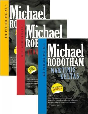 KOMPLEKTAS. Džo O'Loflino bylos. Naktinis keltas + Amnezija + Įtariamasis | Michael Robotham