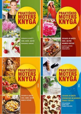 KOMPLEKTAS. Praktiškos moters knyga. Pavasaris + Vasara + Ruduo + Žiema | Daiva Dmuchovska
