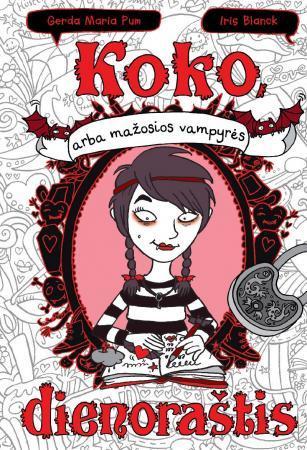 Koko, arba mažosios vampyrės dienoraštis   Gerda Maria Pum, Iris Blanck