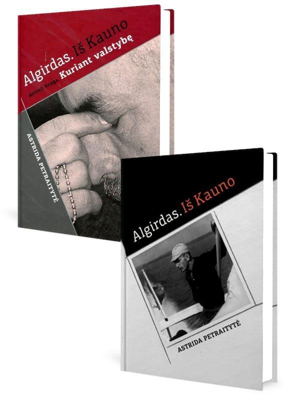 KOMPLEKTAS. Algirdo PATACKO istorija. Algirdas. iš Kauno + Algirdas. Iš Kauno. Kuriant valstybę | Astrida Petraitytė