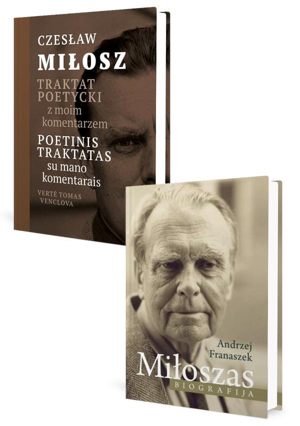 KOMPLEKTAS. Czeslaw MILOSZ. Poetinis traktatas + Miloszas. Biografija | Czeslaw Milosz