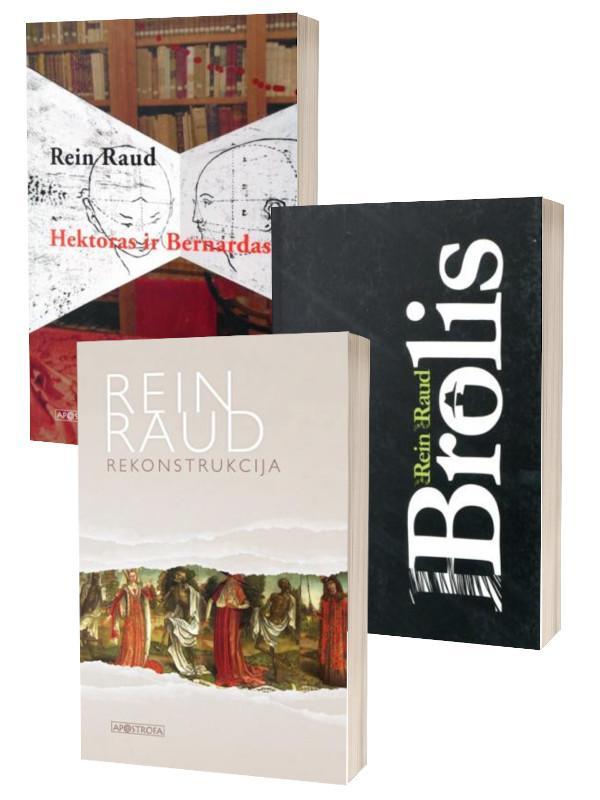 KOMPLEKTAS. Estų ROMANAS. Hektoras ir Bernardas + Brolis + Rekonstrukcija | Rein Raud