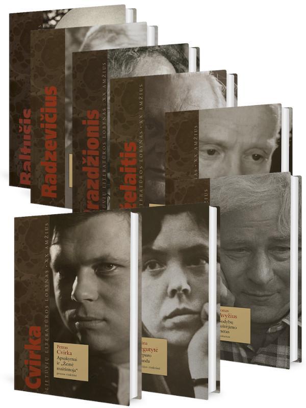KOMPLEKTAS. Lietuvių literatūros LOBYNAS. XX amžius. Poezija ir proza (8 knygos) |