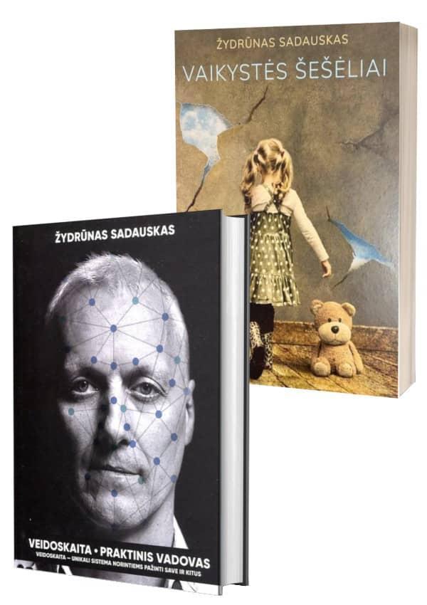 KOMPLEKTAS. Veidoskaita. Praktinis vadovas + Vaikystės šešėliai | Žydrūnas Sadauskas