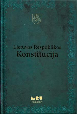 Lietuvos Respublikos Konstitucija (su vertimu į tryliką užsienio kalbų) |