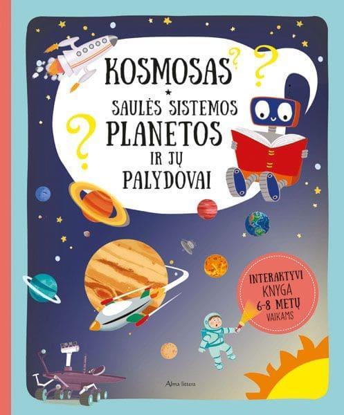 Kosmosas. Apie saulės sistemos planetas ir jų palydovus | Pavel Gabzdyl