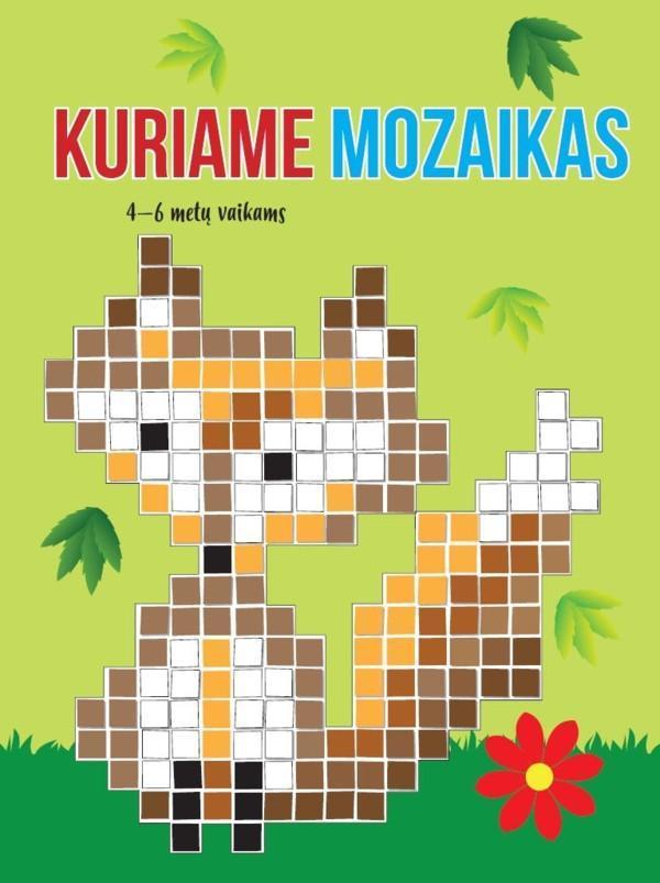 Kuriame mozaikas (4-6 metų vaikams)  