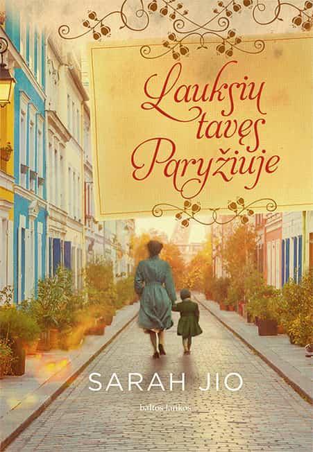 Lauksiu Tavęs Paryžiuje | Sarah Jio
