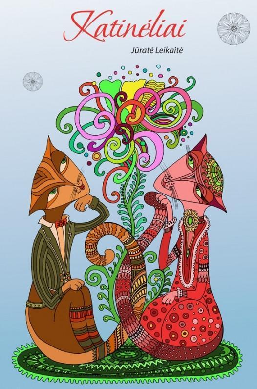 Katinėliai. Laisvalaikio meno terapija | Jūratė Leikaitė