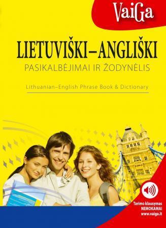 Lietuviški-angliški pasikalbėjimai ir žodynėlis | Sud. Martina Kutalova