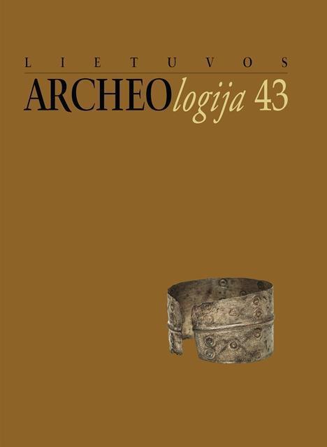 Lietuvos archeologija 43 |