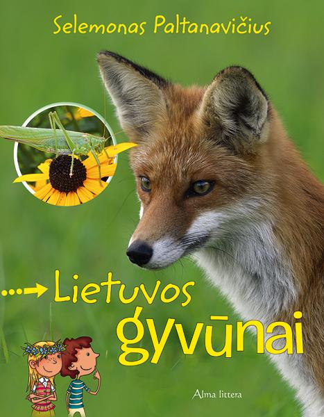 Lietuvos gyvūnai (kartoninė knyga) | Selemonas Paltanavičius