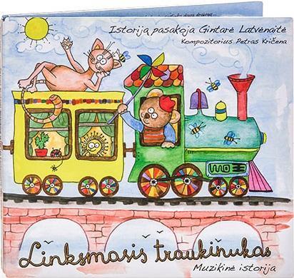 Linksmasis traukinukas (CD)   Sonata Latvėnaitė-Kričenienė, Petras Kričena