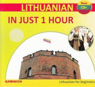 Lithuanian in just 1 hour (CD + brošiūra) |