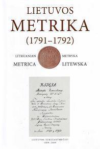 Lietuvos Metrika. Knyga Nr. 35 (1791–1792) |