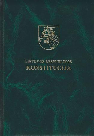 Lietuvos Respublikos Konstitucija (lietuvių ir anglų kalbomis) (3-as leidimas)  