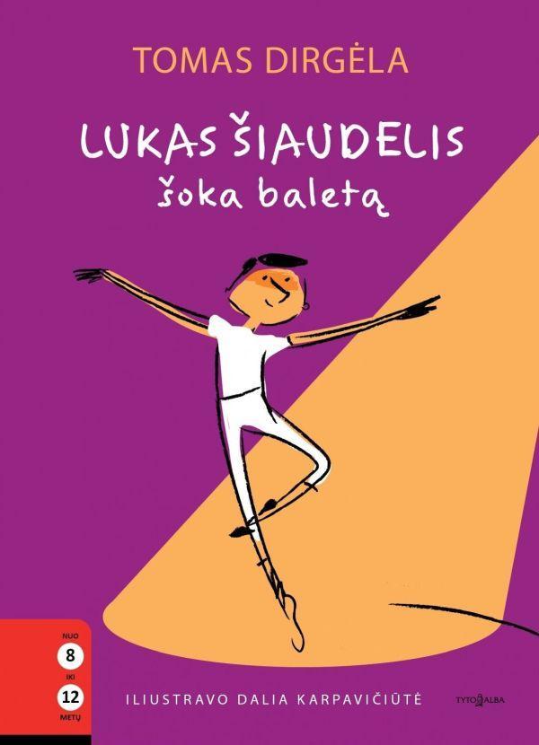Lukas Šiaudelis šoka baletą   Tomas Dirgėla