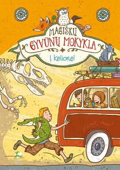 Magiškų gyvūnų mokykla 4. Į kelionę! | Margit Auer